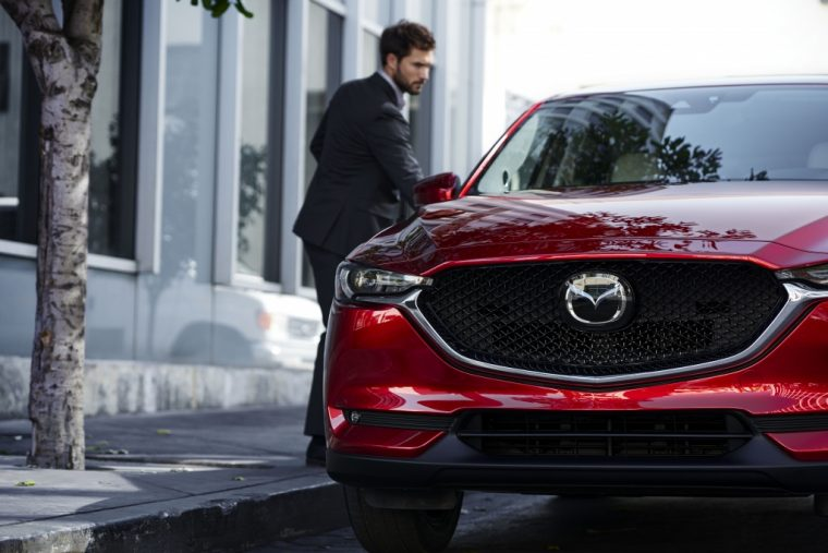 Behold Mazda Unveils Redesigned CX At LA Auto Show The - Mazda la