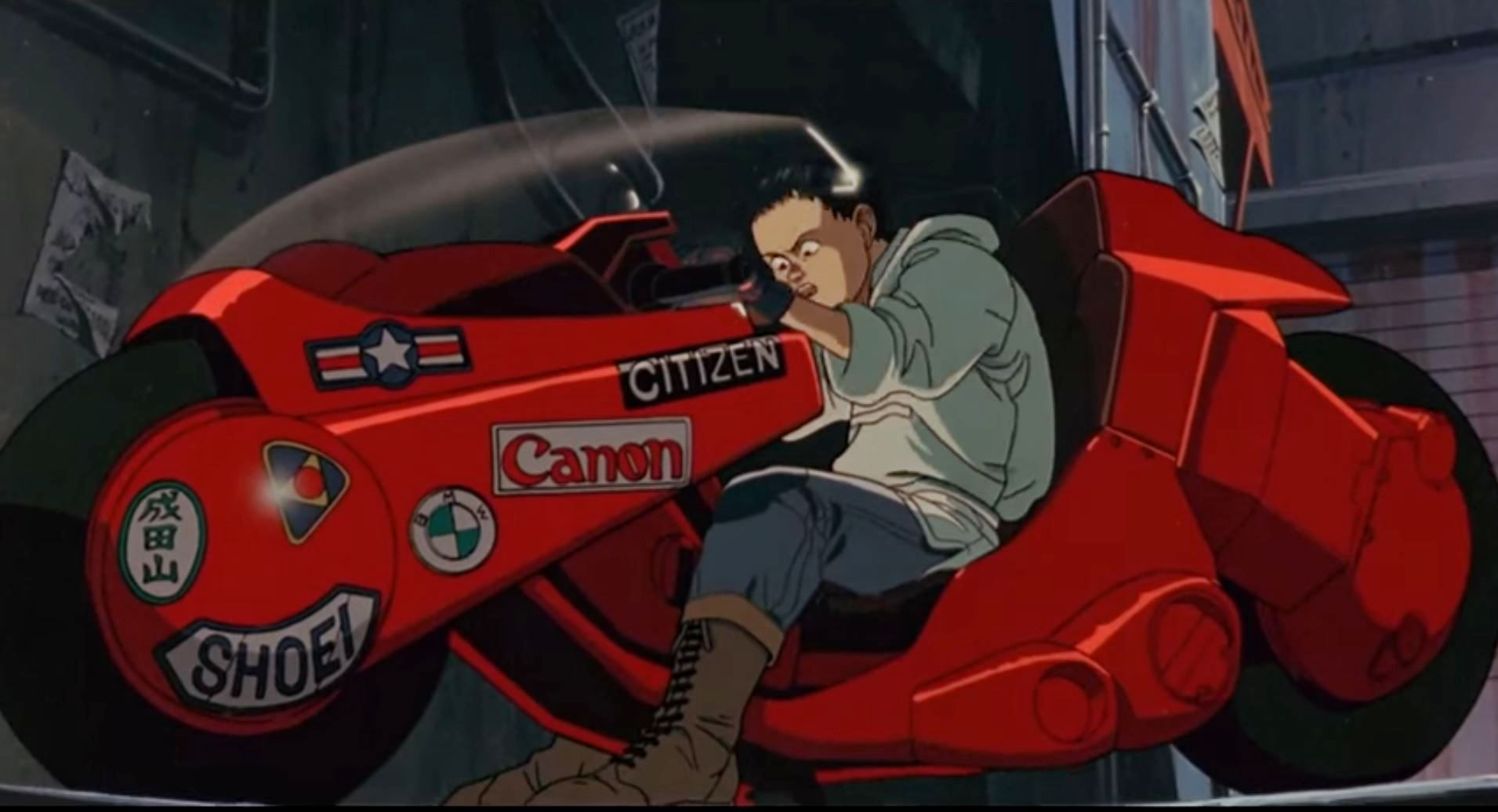 Sticker Wallpaper Akira Motorcycle Most Popular Cars From Japenese Anime