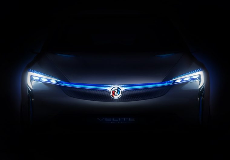 The new Buick Velite Concept will debut at the Guangzhou auto show