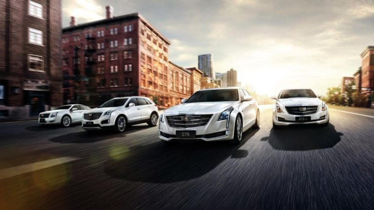 GM has sold more than 100,000 Cadillac vehicles in China so far in 2016