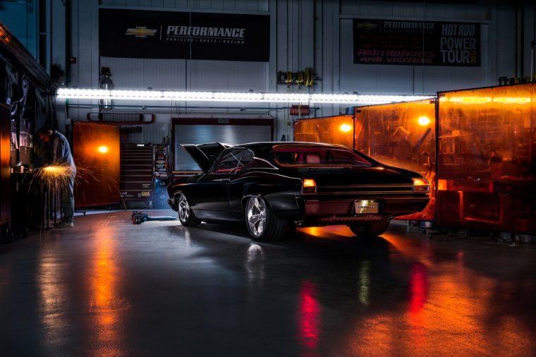 Chevy Chevelle Slammer concept at 2016 SEMA Show