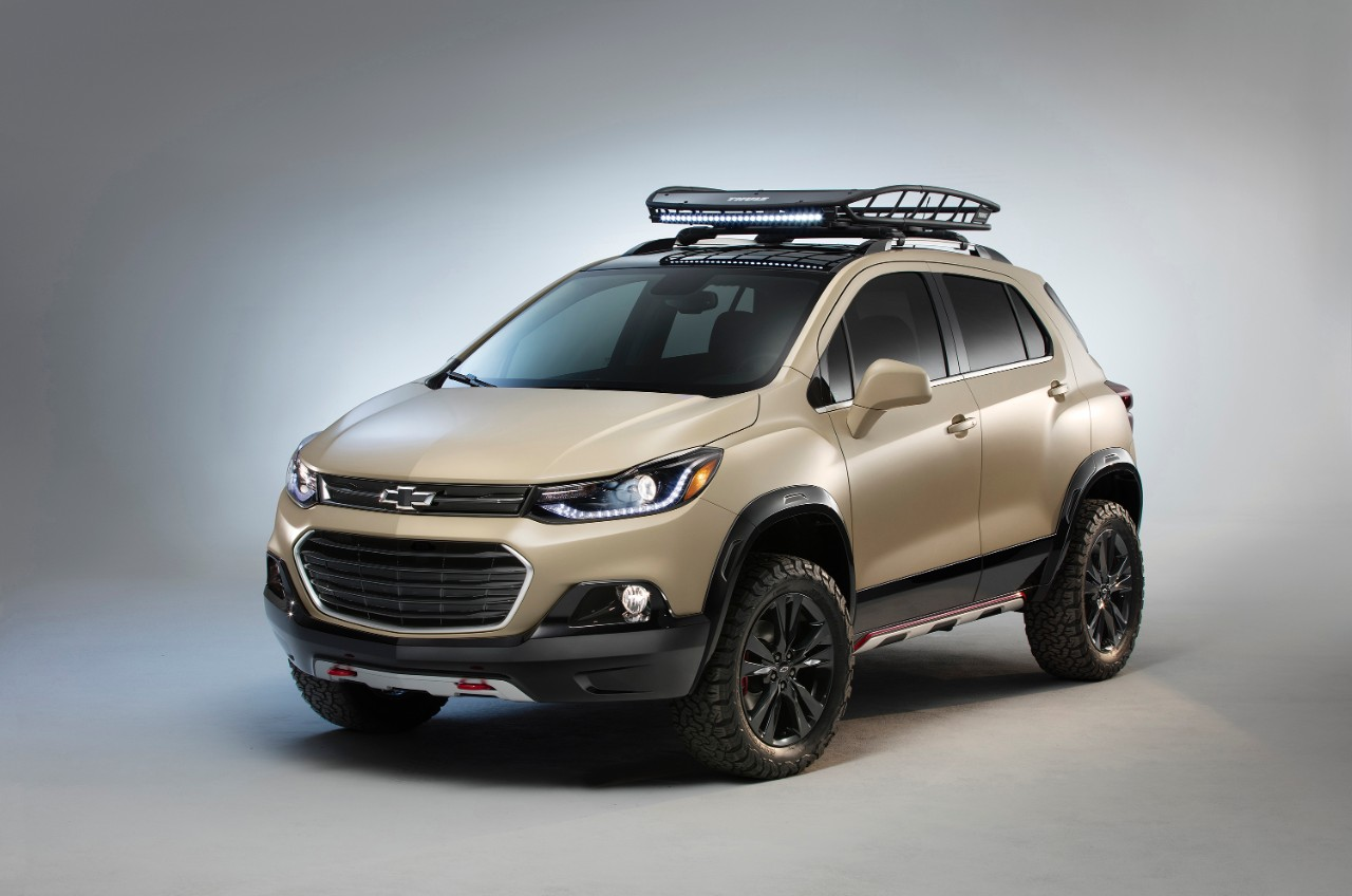 Chevy Trax Activ Concept Debuts at SEMA | The News Wheel
