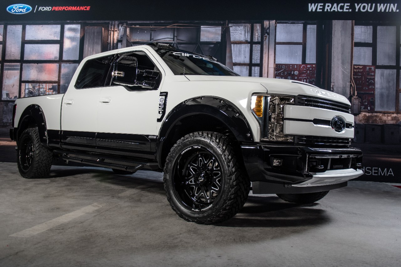 2017 Ford F-250 Super Duty 4×2 Lariat Crew Cab by Air Design USA ...