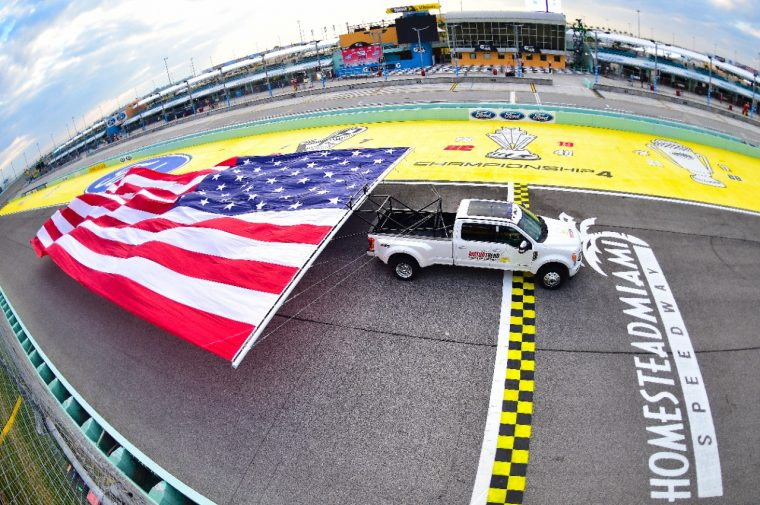 Ford F-450 Hauls Old Glory