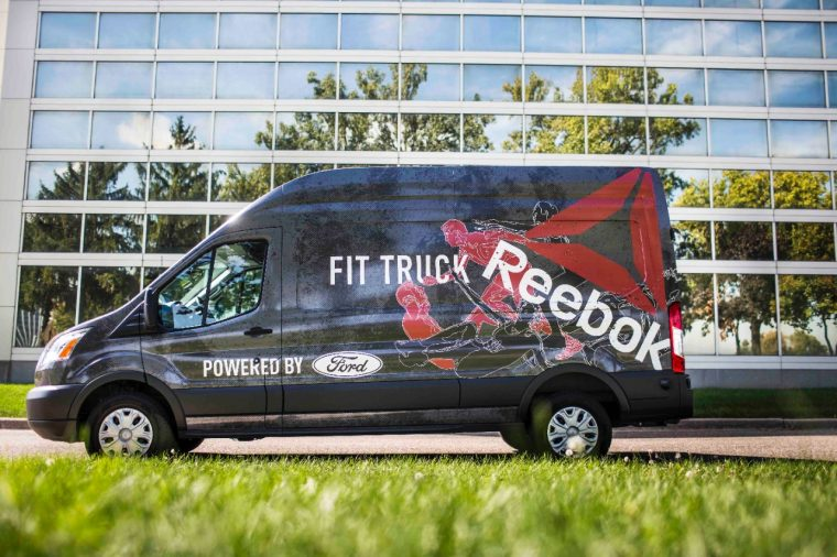 Ford Reebok FitTruck