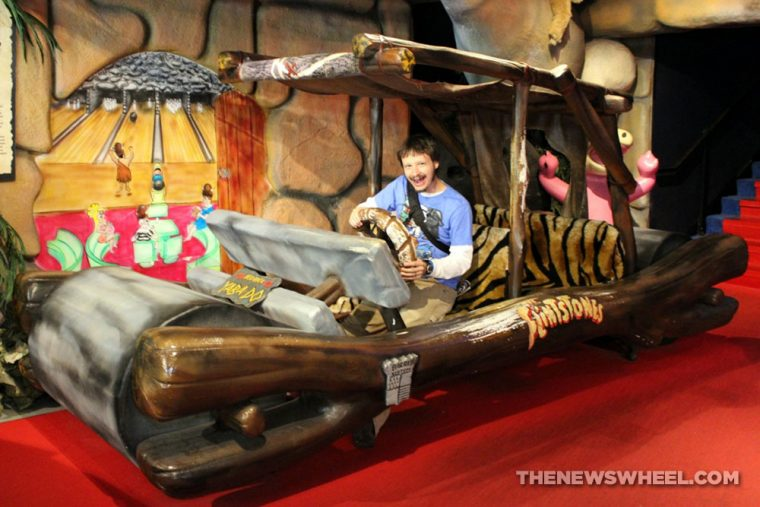 Hollywood Star Cars Museum Gatlinburg Attraction review information famous movie TV vehicles Flintstones