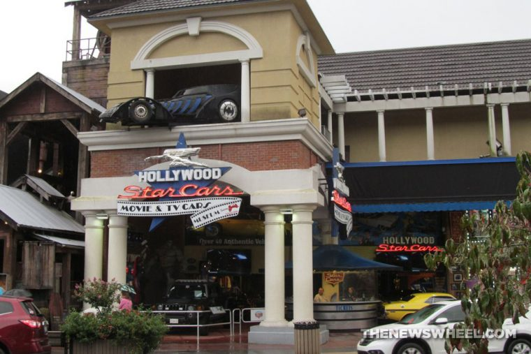 Hollywood Star Cars Museum Gatlinburg Attraction review information famous movie TV vehicles building directions