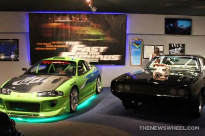 Hollywood Star Cars Museum Gatlinburg Attraction review information famous movie TV vehicles fast furious