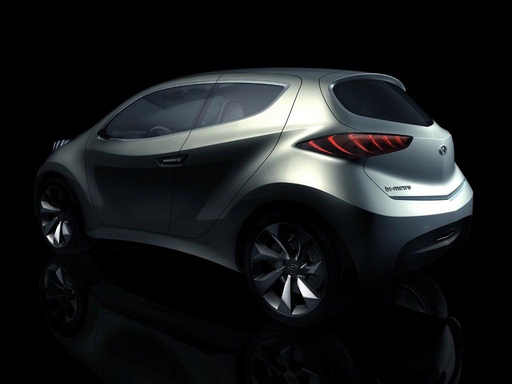 hyundai ix metro concept car design rear the news wheel