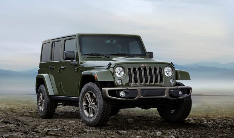 The Jeep Wrangler was named a 2017 Autos del Año