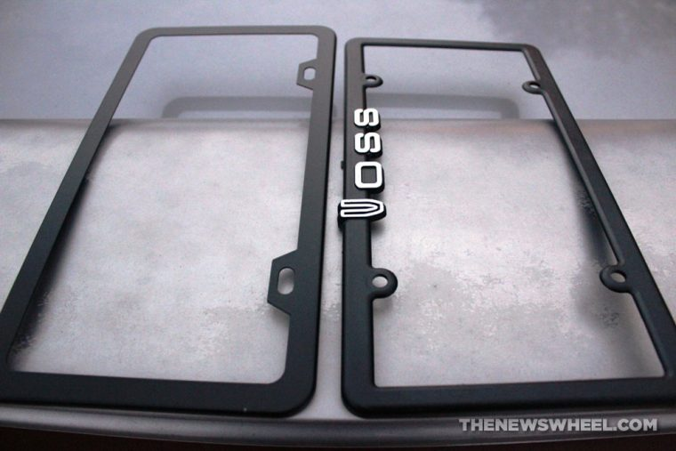 Karoad stainless steel license plate frame cover review comparison