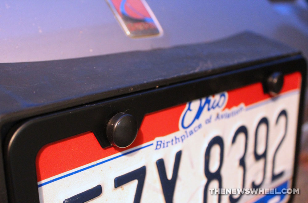 Car Accessory Review: Karoad Stainless Steel License Plate Frame ...