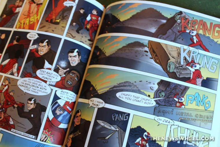 Nascar Heroes comic book graphic novel issues review Jimmy Dash