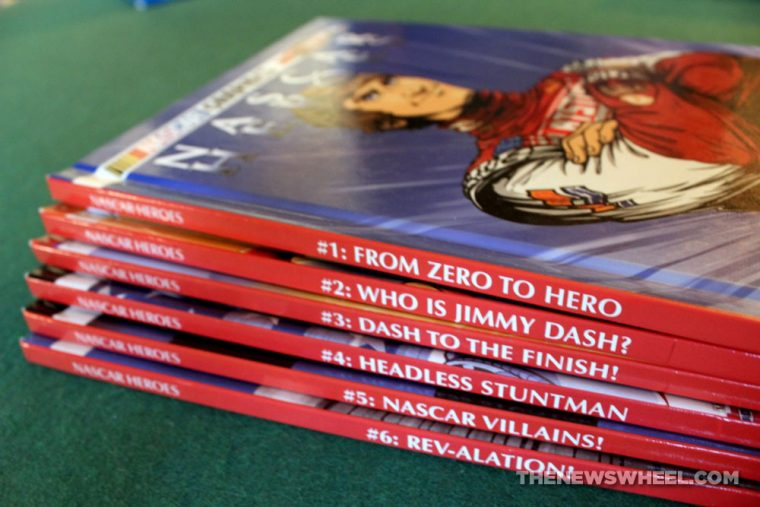 Nascar Heroes comic book graphic novel issues review titles