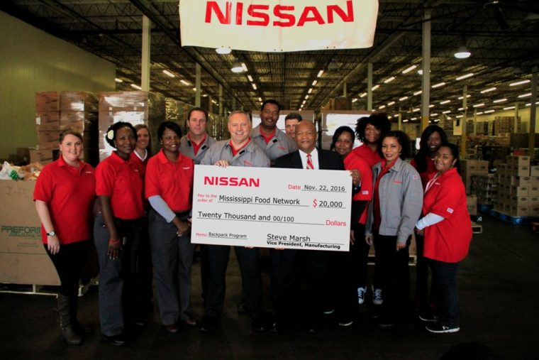 nissan-food-donation