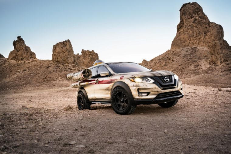 "Nissan ""Battle Tested Rogue Virtual Reality Experience"""