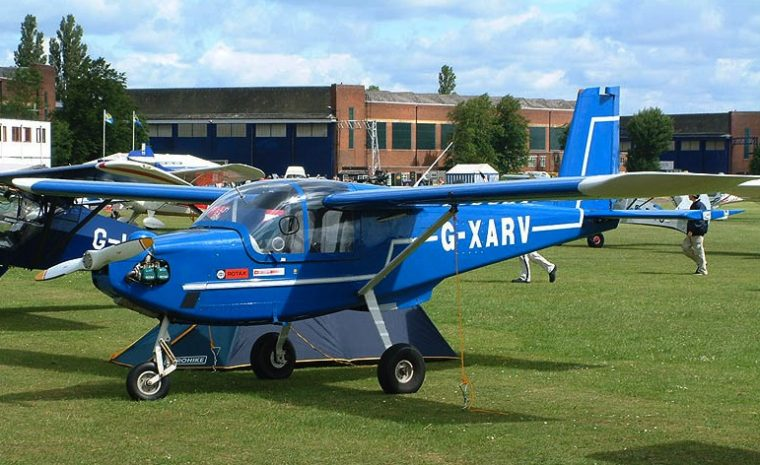 Rotax 912 light aircraft