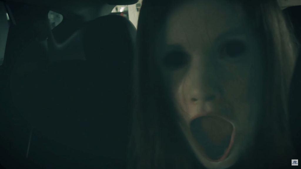 Scary Hyundai Ix35 Commercial Halloween Horror Jump Scare In Car