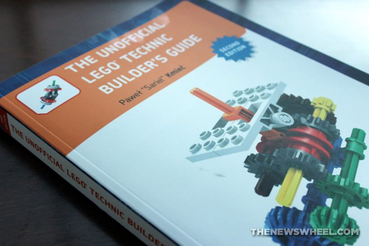 The Unofficial Lego Technic Builder's Guide Book Review Pawet Kmiec cover