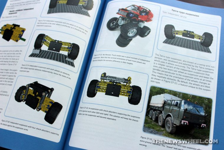 The Unofficial Lego Technic Builder's Guide Book Review Pawet Kmiec suspension