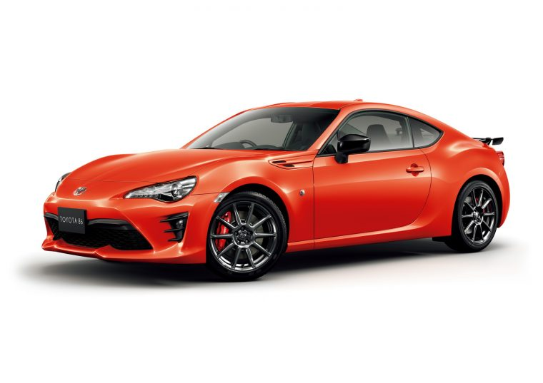 Toyota 86 Solar Orange exterior