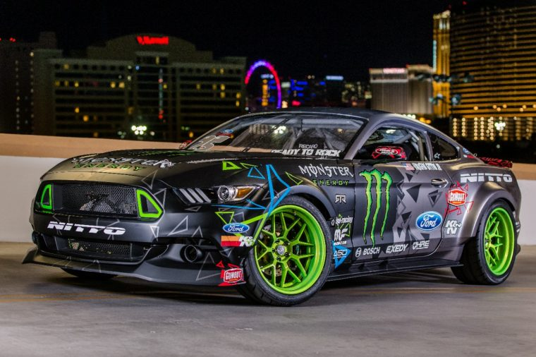 Vaughn Gittin RTR Drift Mustang