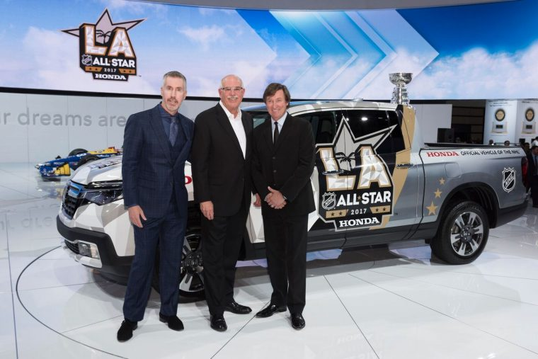 Honda Named Title Sponsor Of 2017 NHL All-Star Game In Los Angeles, Expands Commitment As The Official Vehicle Of The NHL