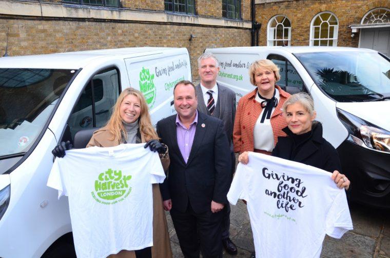 Vauxhall donates Vivaro vans to City Harvest