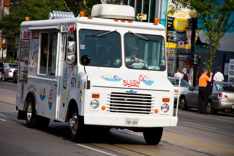 ice cream truck history dessert van