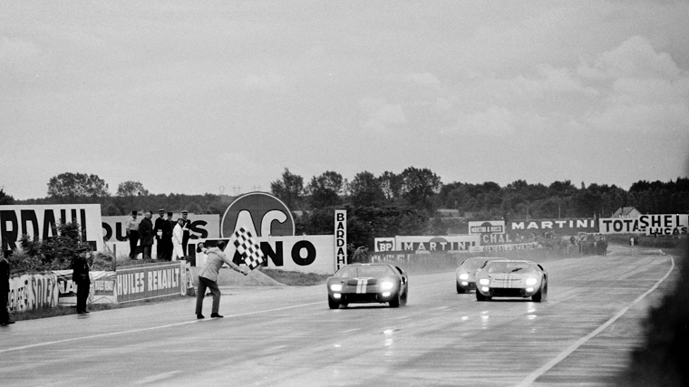 Ford wins Le Mans 1966