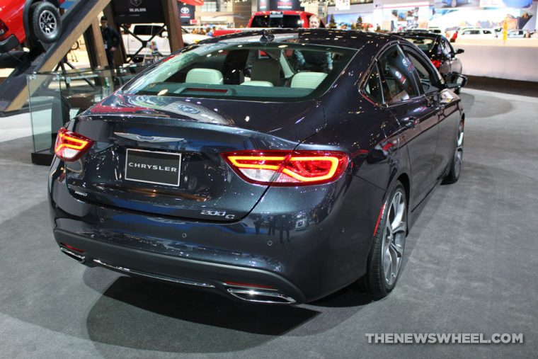 The Chrysler 200 was been discontinued in December of 2016