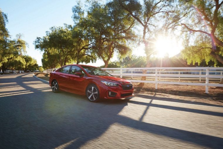 The Subaru Impreza underwent a thorough redesign for the 2017 model year