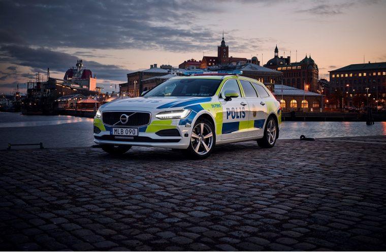 Volvo V90 Swedish Police Vehicle