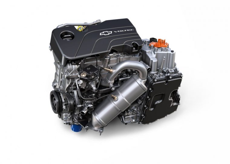 2017 Chevy Volt Voltec Drive Unit and Range Extender