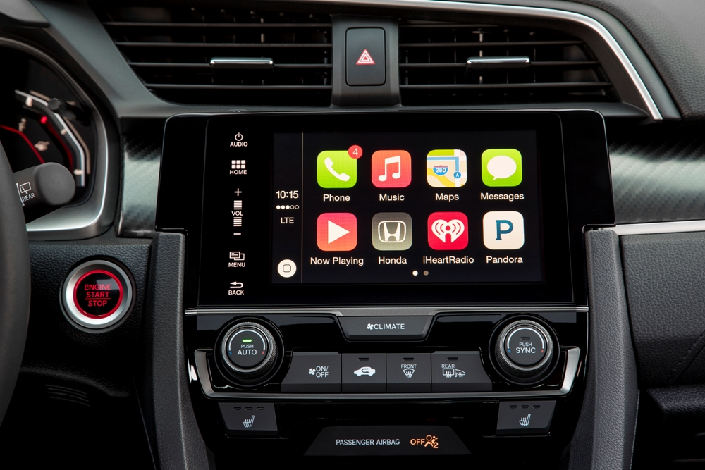 2017 Honda Civic Hatchback Sport Touring | The News Wheel