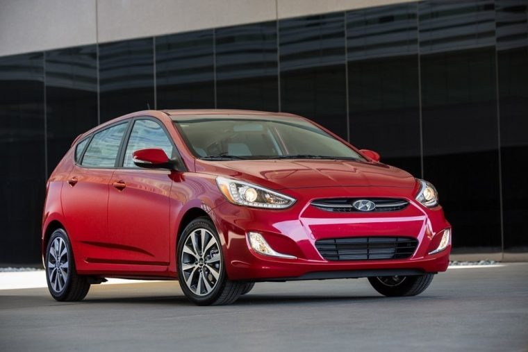 2017 Hyundai Accent overview model details features specs red exterior