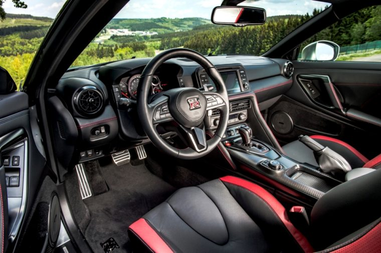 2016 nissan gt r interior. the 2017 nissan gtr can go from 0 to 60 mph in just over 2016 gt r interior