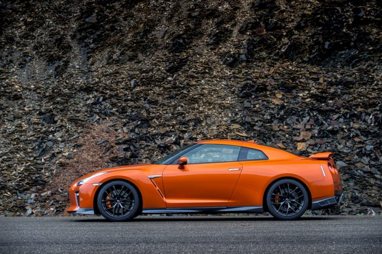 The 2017 Nissan GT-R can go from 0 to 60 mph in just over three seconds