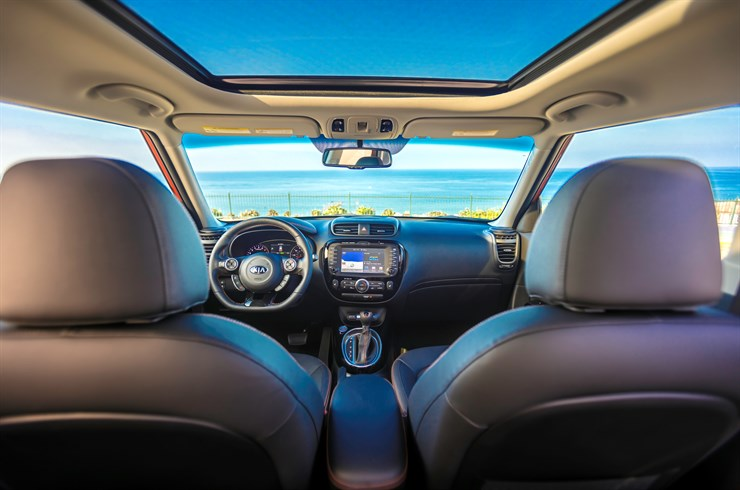 2017 Kia Soul Turbo Interior