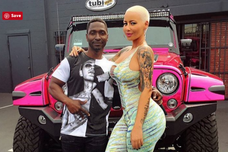 Any list of the best celebrity cars must include Amber Rose's Pink Wrangler