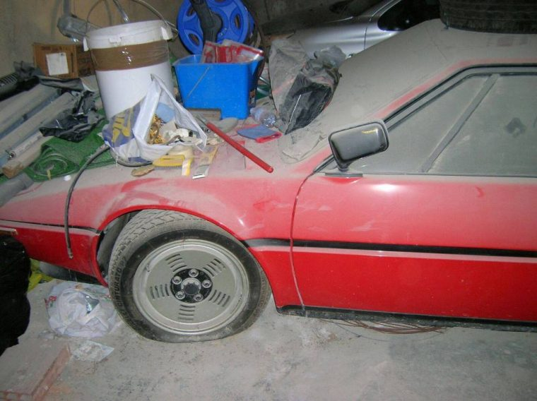 Barn Find BMW M1