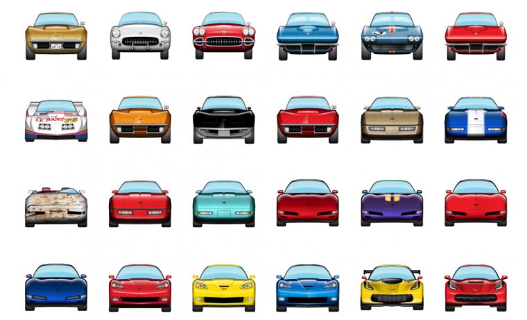 corvette emojis - automoji: bowling green
