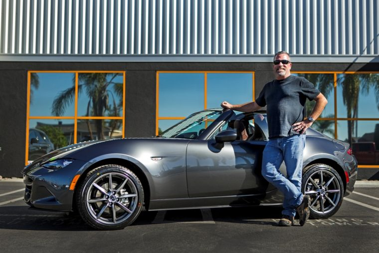 First MX-5 RF sales Huntington Beach Mazda First RF 2016