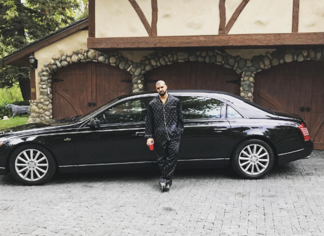 Any list of the best celebrity cars must include Drake's Maybach 62S Landaulet