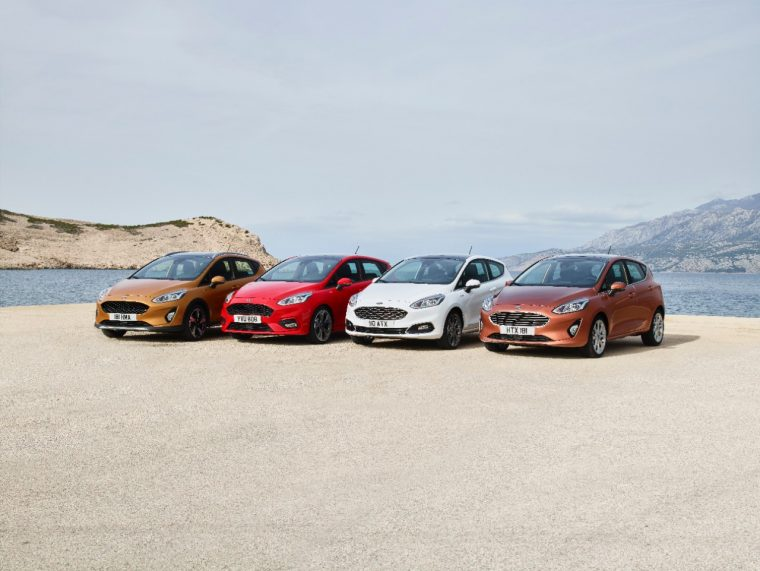 New Ford Fiesta Lineup