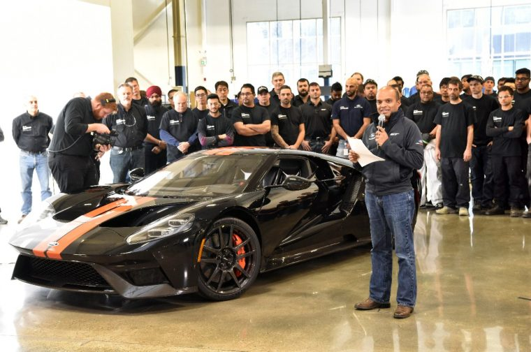 Ford GT Job 1 Ceremony