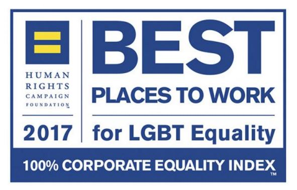 Ford scored a 100 in the HRC's 2017 Corporate Equality Index