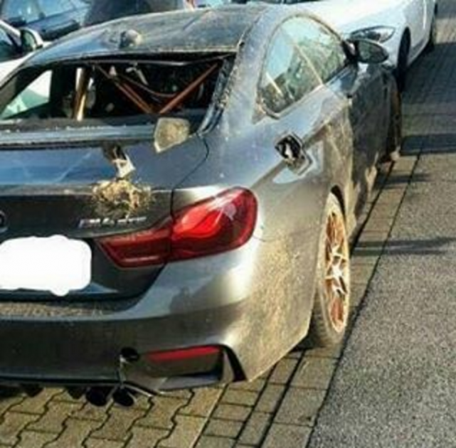 and then there were 802 bmw m4 gts wrecked the news wheel