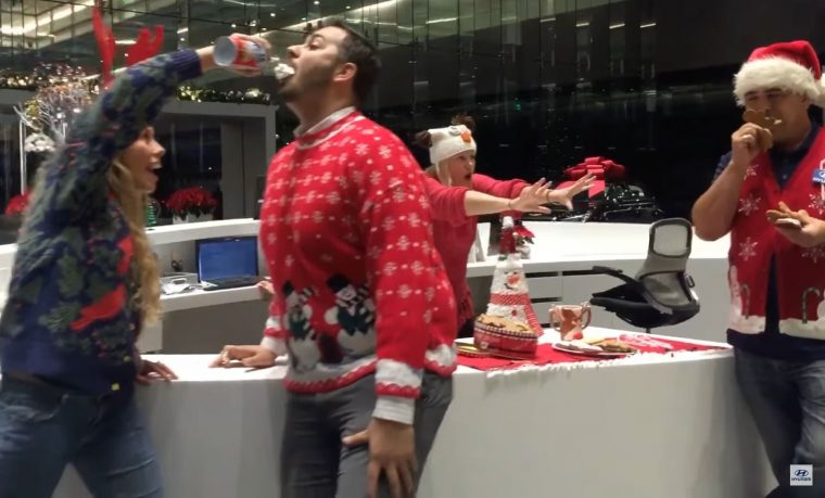 Hyundai Holidays Mannequin Challenge video commercial
