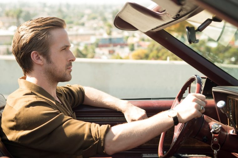 La La Land film movie cars Lionsgate 2016 scene Ryan Gosling Buick Rivera